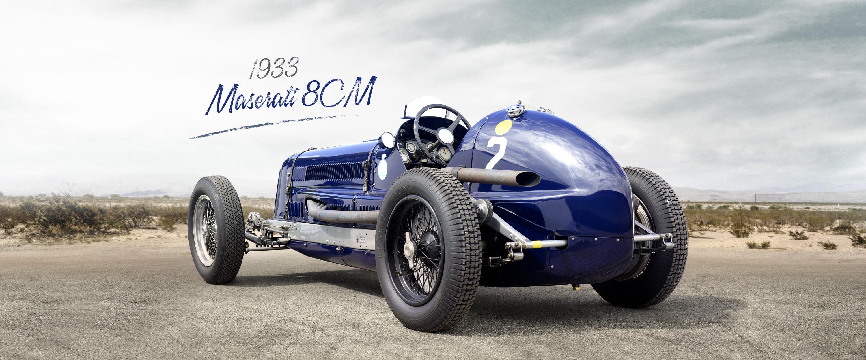 Zweimüller Cars › 1933 Maserati 8CM D